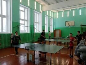 6 января прошли спортивные соревнования  по настольному теннису