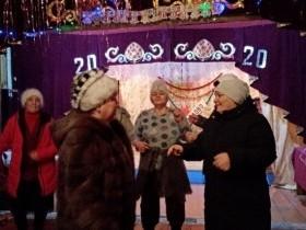Жители д.Халилово дружно и вместе встретили старый Новый год